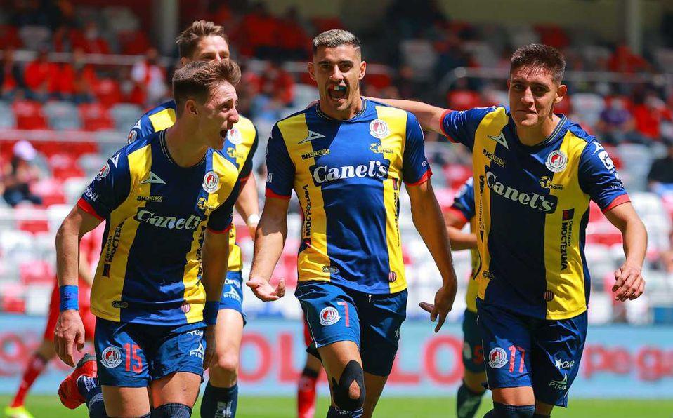 Atlético San Luis vence como visitante a Toluca y escala al quinto lugar de la tabla