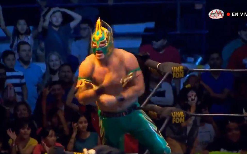 AAA: Laredo Kid se impuso al poderío de los Mercenarios - Mediotiempo