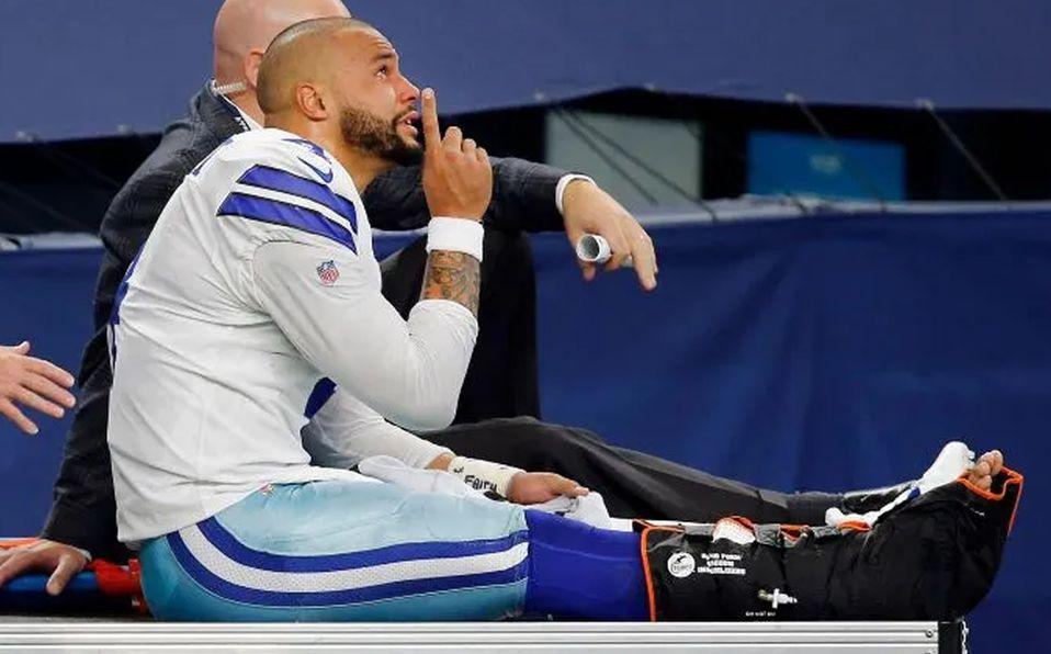Dak Prescott salió bien de la cirugía tras terrible lesión con Cowboys -  Mediotiempo