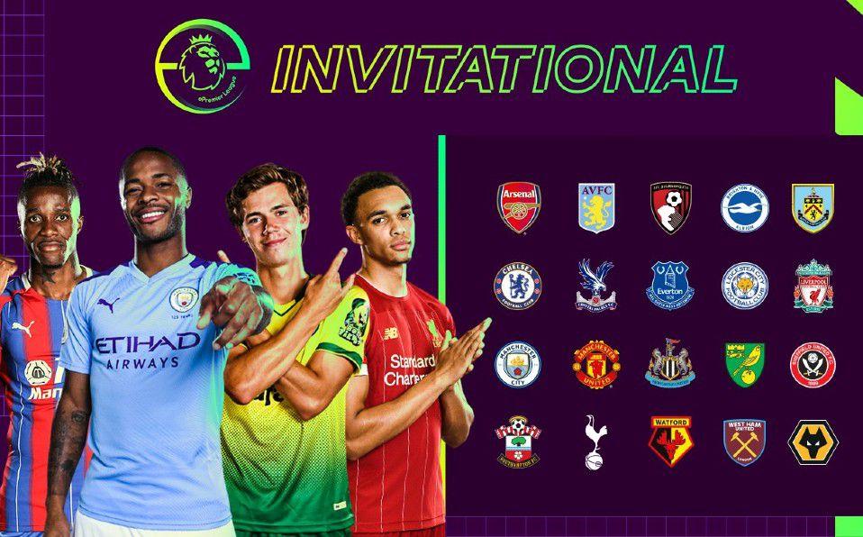 Torneo virtual Premier League Invitational > Que clubes y jugadores famosos participarán, cuando serán los encuentros, algunas cuotas etc.