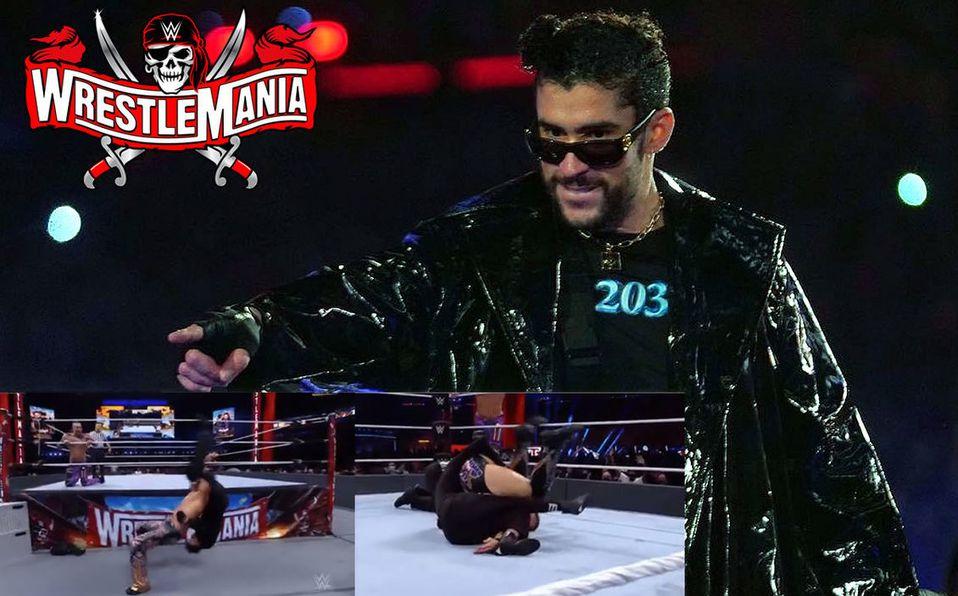 Bad Bunny made history at WrestleMania 37
