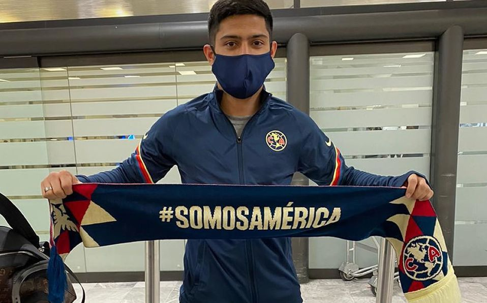 Sergio Díaz al América. Aterrizó en México para firmar contrato ...