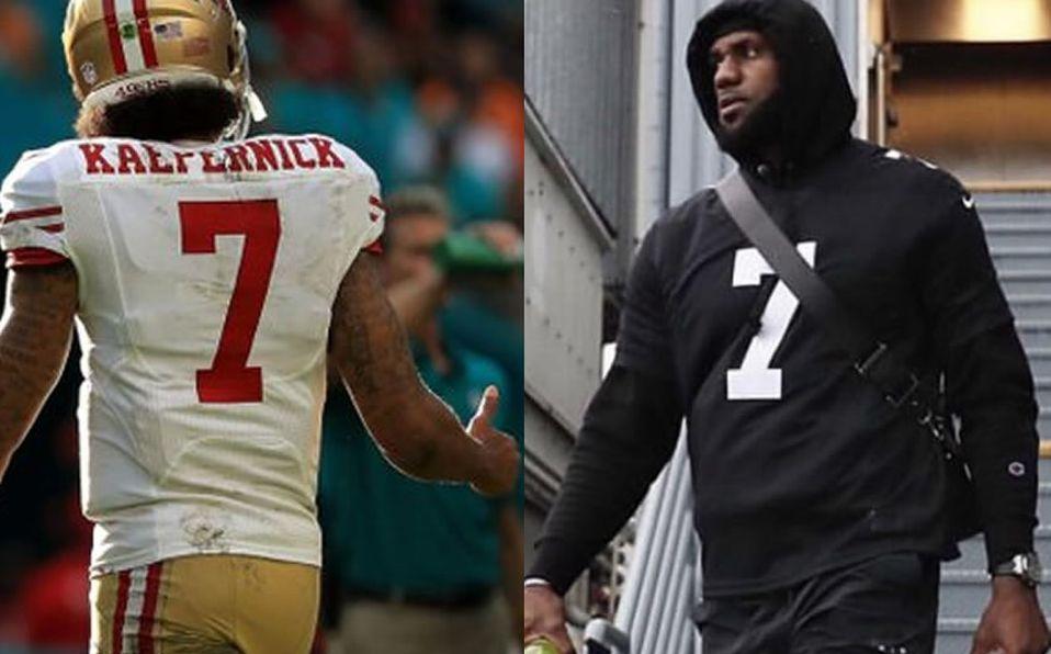 finest selection bde36 df5bf Super Bowl 2019: Colin Kaepernick reaparece en jersey de ...