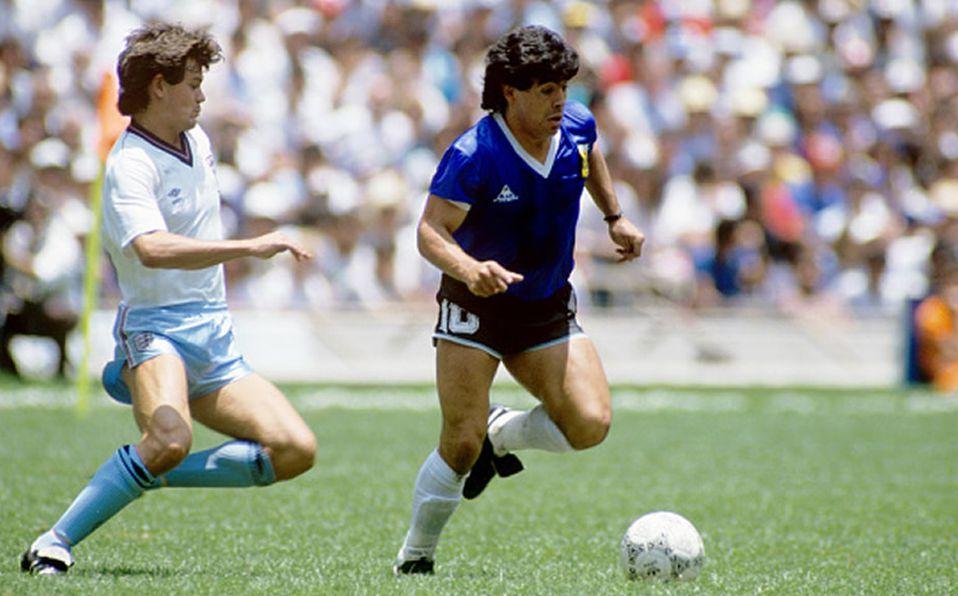 Video Inedito Del Gol Del Siglo De Maradona A Inglaterra En Mexico 86 Mediotiempo
