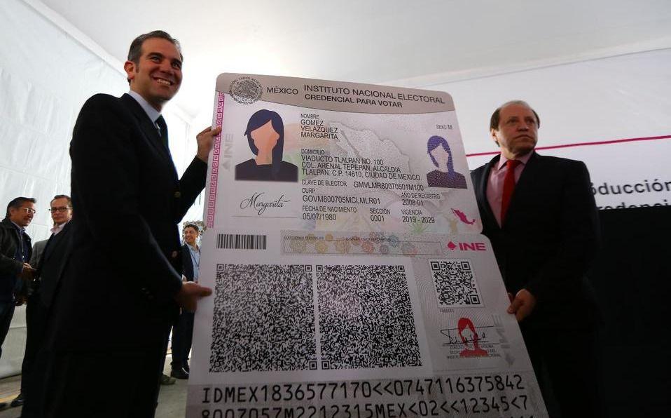 Ine Presentó Nueva Credencial De Elector Tendrá 24