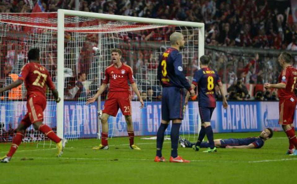 El día que Bayern Munich aplastó 7-0 al Barcelona en Champions - Mediotiempo