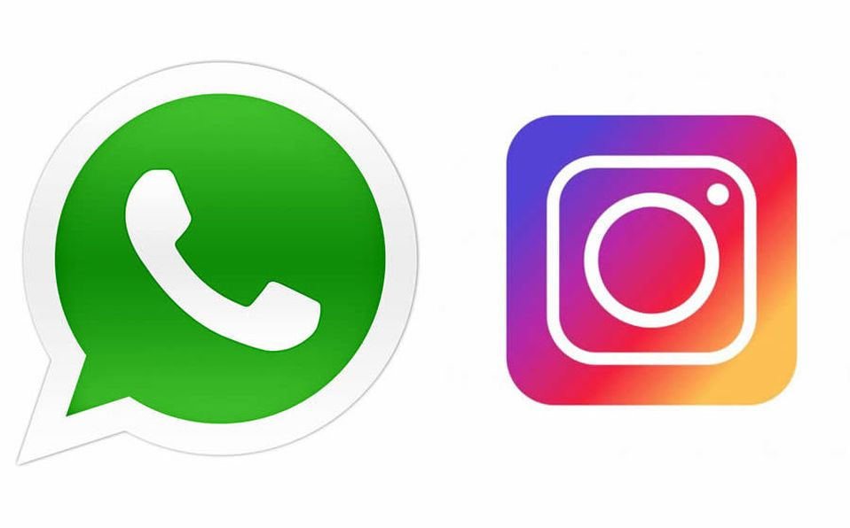 Resultado de imagen para Whatsapp e Instagram.