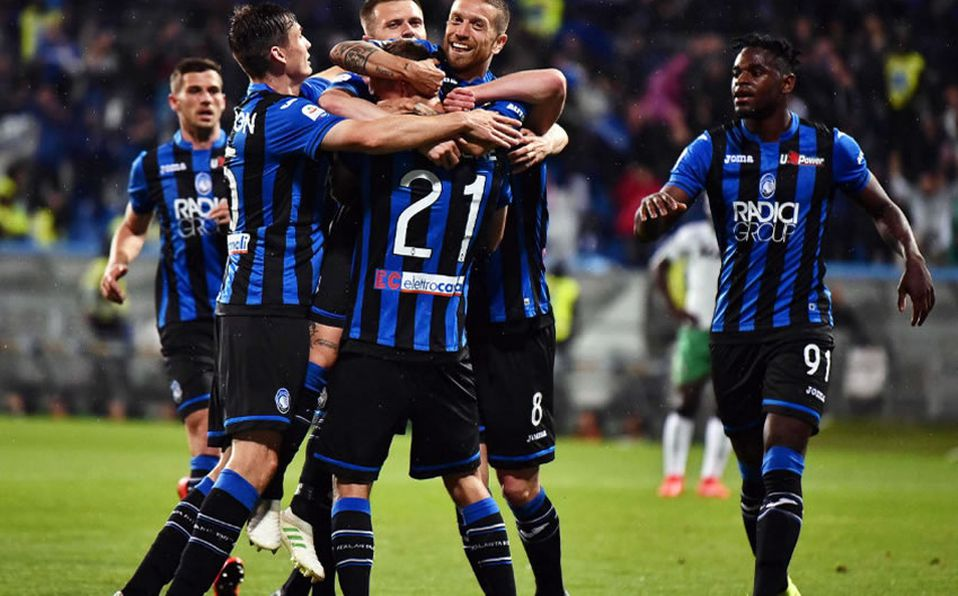 Image result for atalanta champions league