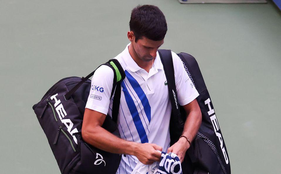 Djokovic Habla De Su Expulsion Del Us Open Me Siento Triste Y Vacio Mediotiempo