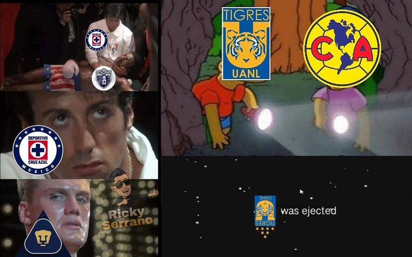 Memes Cruz Azul vs Tigres. Cuartos de Final Guardianes ...