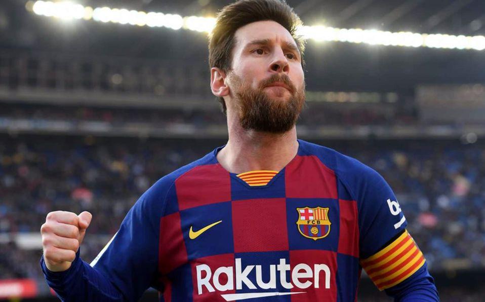 Se acabó la novela: Messi se queda en el Barcelona. Foto: AFP