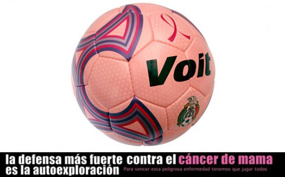Vuelve el balón rosa a la Primera División para combatir cáncer de mama 09ac763e9ef5c