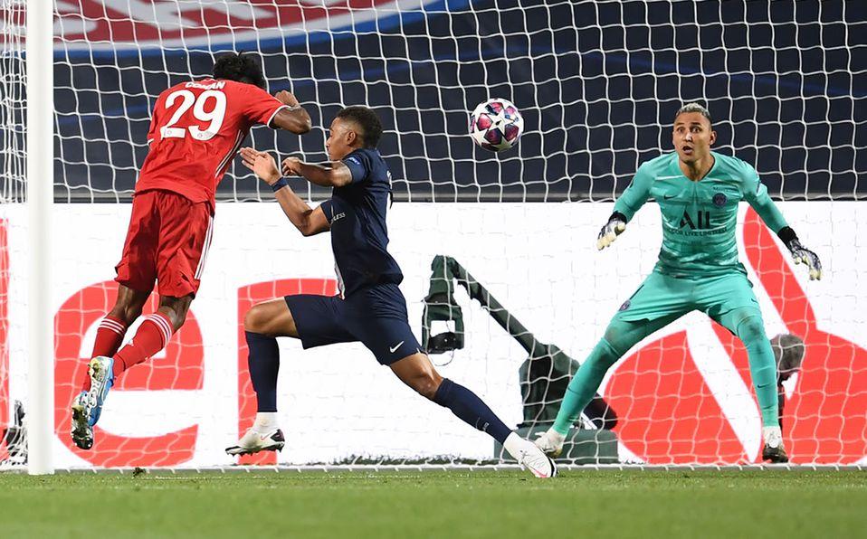 Kingsley Coman anota y el Bayern Munich ya gana al PSG - VIDEO ...