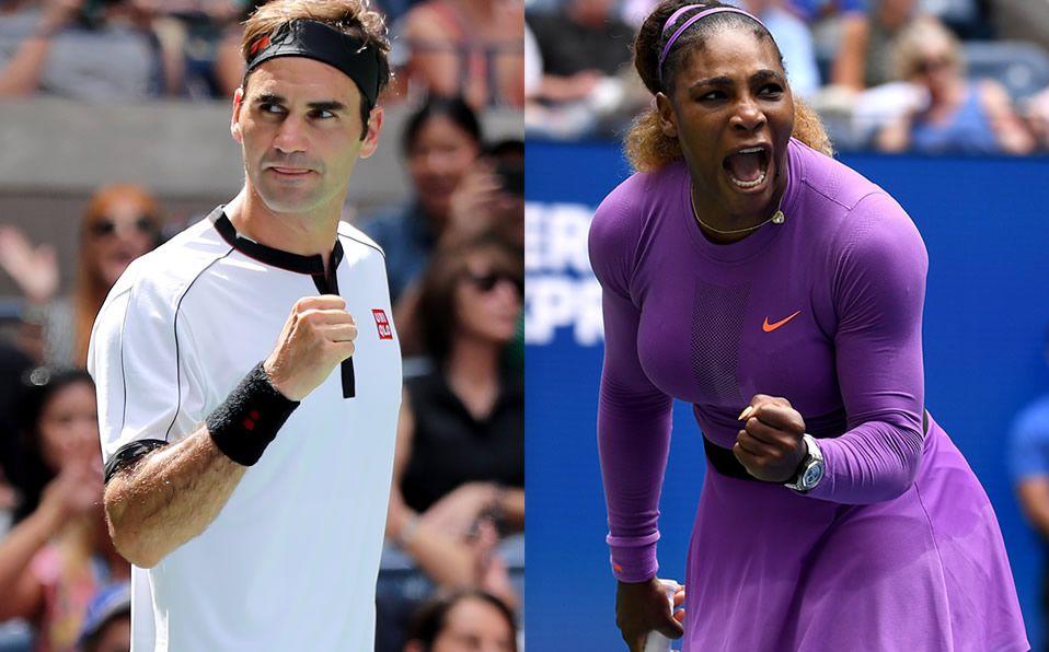 Roger Federer y Serena Williams avanzan fácil a Cuartos del US Open -  Mediotiempo