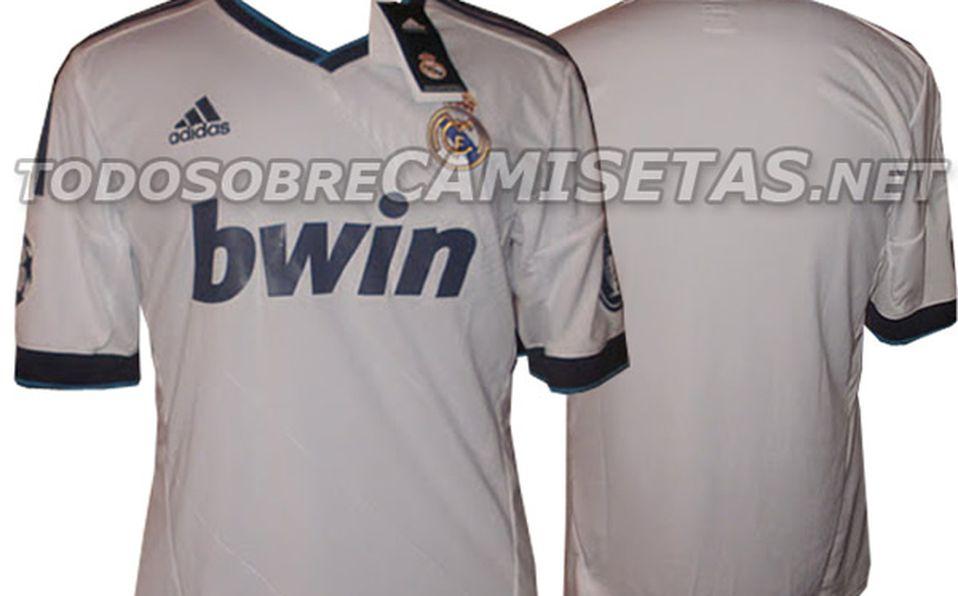376cfb4cbcd8d Se filtran camisetas de Real Madrid y Milán para 2012-2013