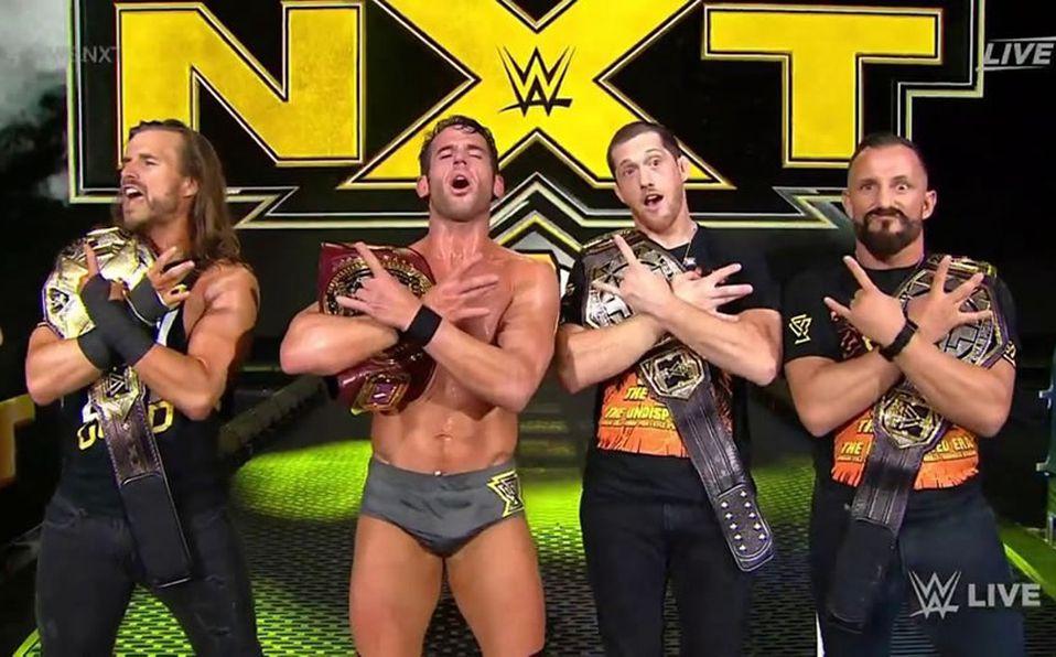 Roderick Strong, Campeón Norteamericano, The Undisputed Era domina NXT - Mediotiempo