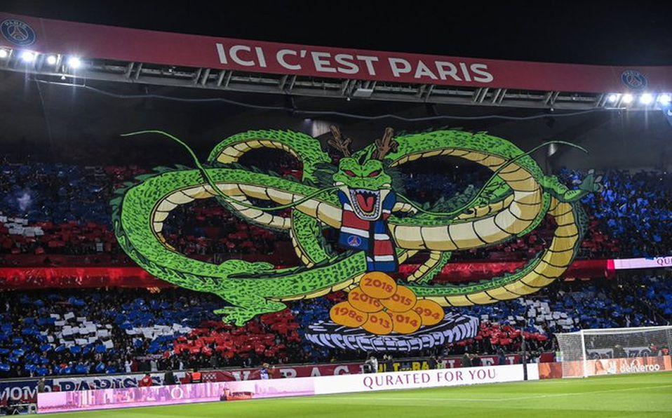 Dragon Ball Llega A La Casa Del Paris Saint Germain Con Tifo Gigante Mediotiempo