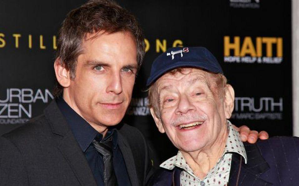 Murió el actor Jerry Stiller, padre del comediante Ben Stiller ...