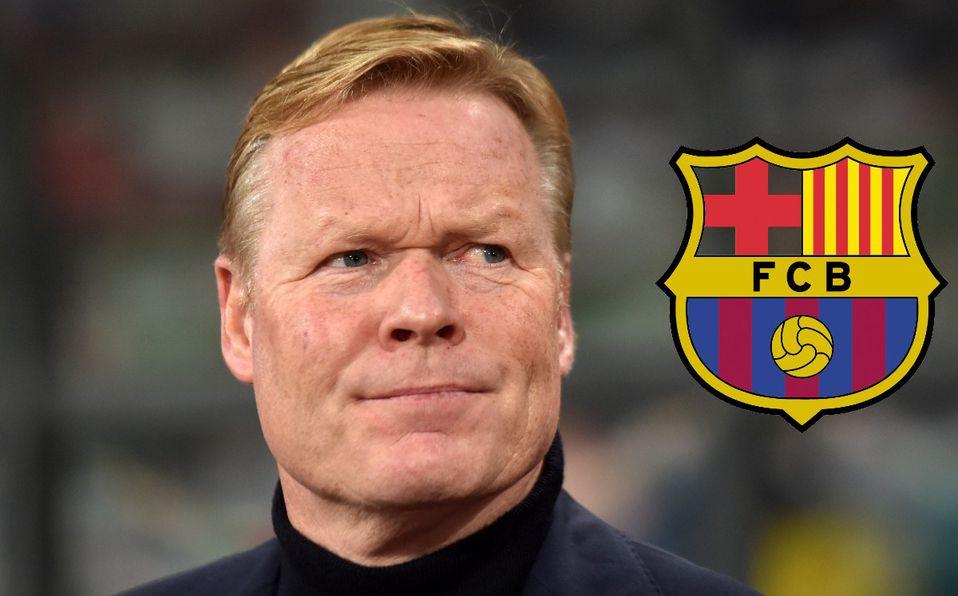Ronald Koeman dejó al selectivo de Holanda para enrolarse con el Barça. FOTO: AFP.
