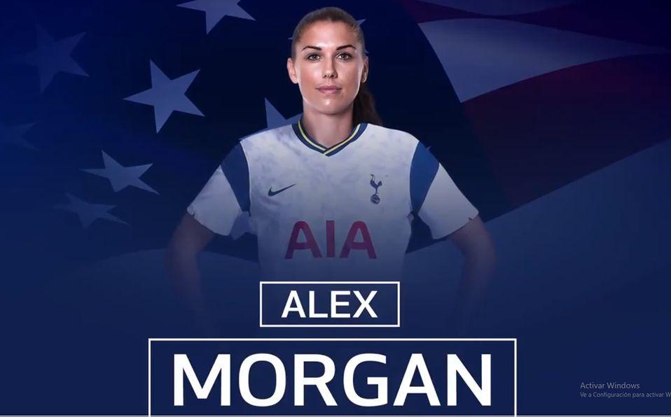 Alex Morgan Ficha Con El Tottenham De Inglaterra Mediotiempo