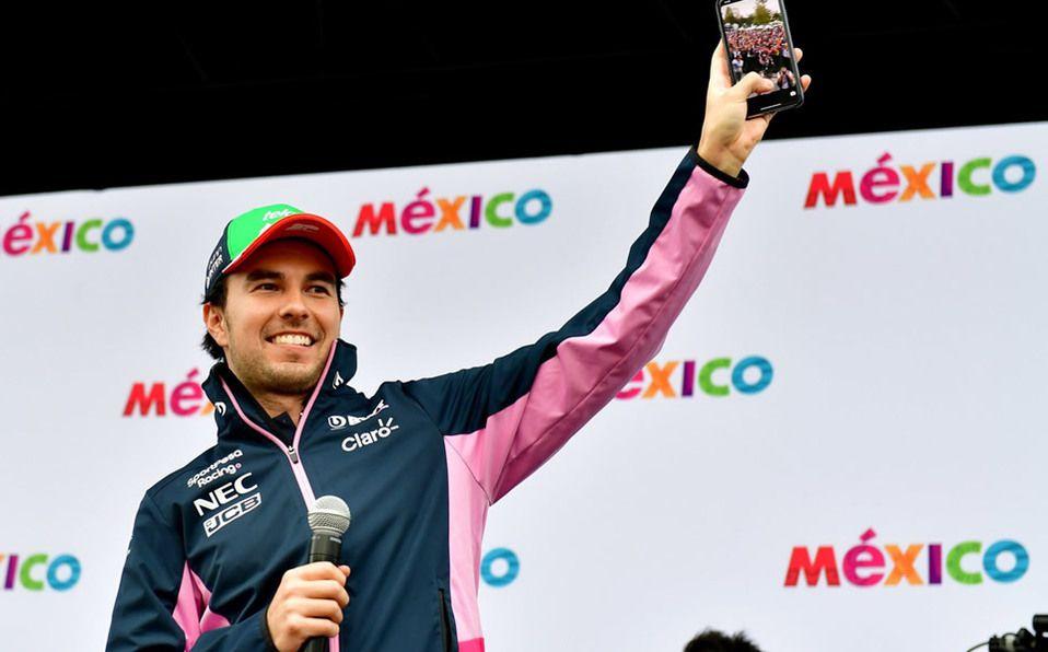 Sergio Pérez lamenta cancelación del Gran Premio de México por la pandemia de COVID-19