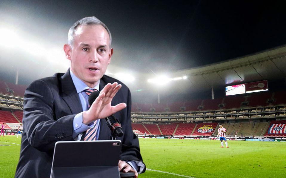 López-Gatell responsabilizó al gobierno de Jalisco de lo que suceda. (Fotos: Mexsport y AFP)