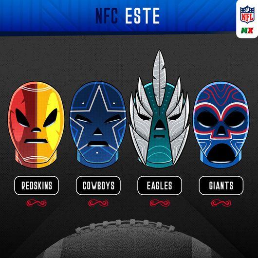 NFL celebra con México el mes patrio y se pone máscaras de lucha libre   Galería aabddfd58e4