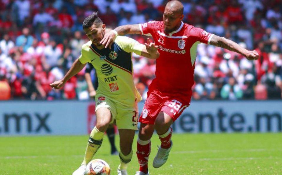 ba9c08af4c0 Liga MX: Jonatan Maidana destaca triunfo de América en Toluca ...