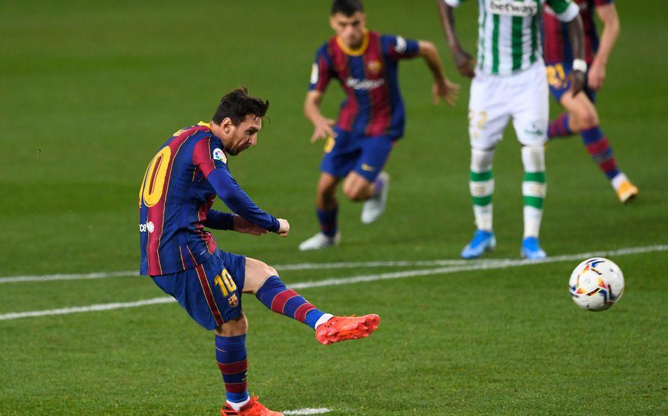 Lionel Messi rompió racha de penales y anotó gol en jugada ante Betis - Mediotiempo