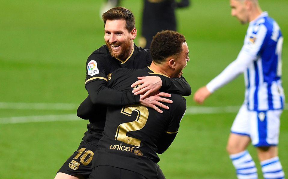 Real Sociedad vs Barcelona (1-6): sigue amenazado liderato del Atleti - Mediotiempo