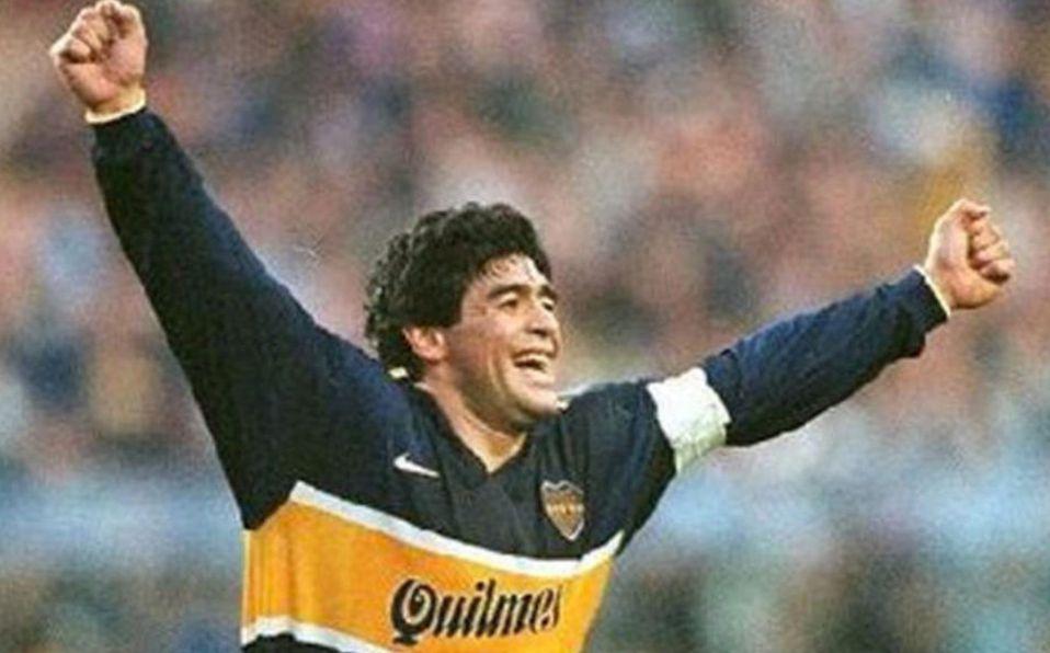Maradona jugó en Boca de 1981 a 1982. (FOTO: AFP)