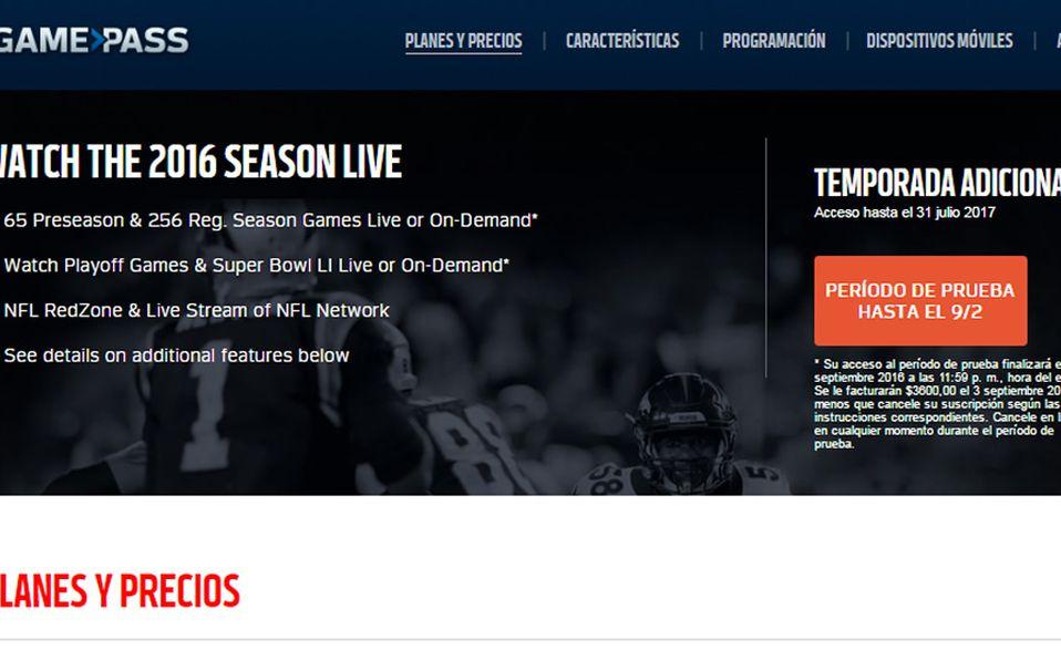 a54c938aa6527 La aplicación NFL Game Pass International ya está disponible en México.