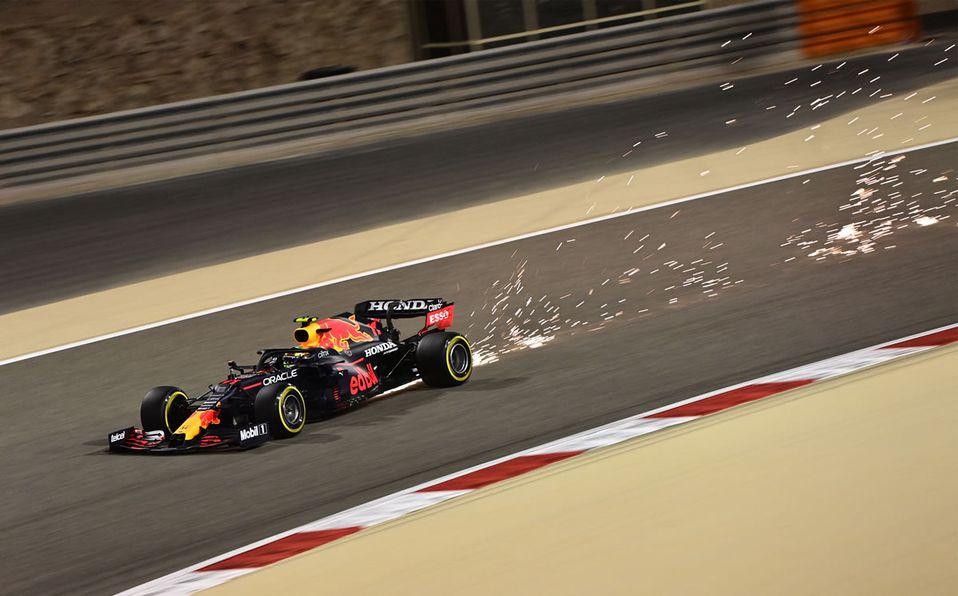 Checo Pérez fue elegido el piloto del día en el Gran Premio de Bahréin