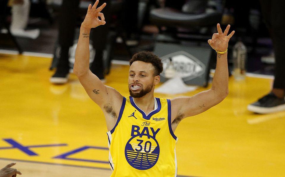 Stephen Curry. BESTIAL partido de 62 puntos en Warriors-Blazers VIDEO -  Mediotiempo