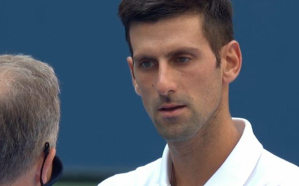 Novak Djokovic Descalificado Del Us Open Por Golpear A Juez Mediotiempo