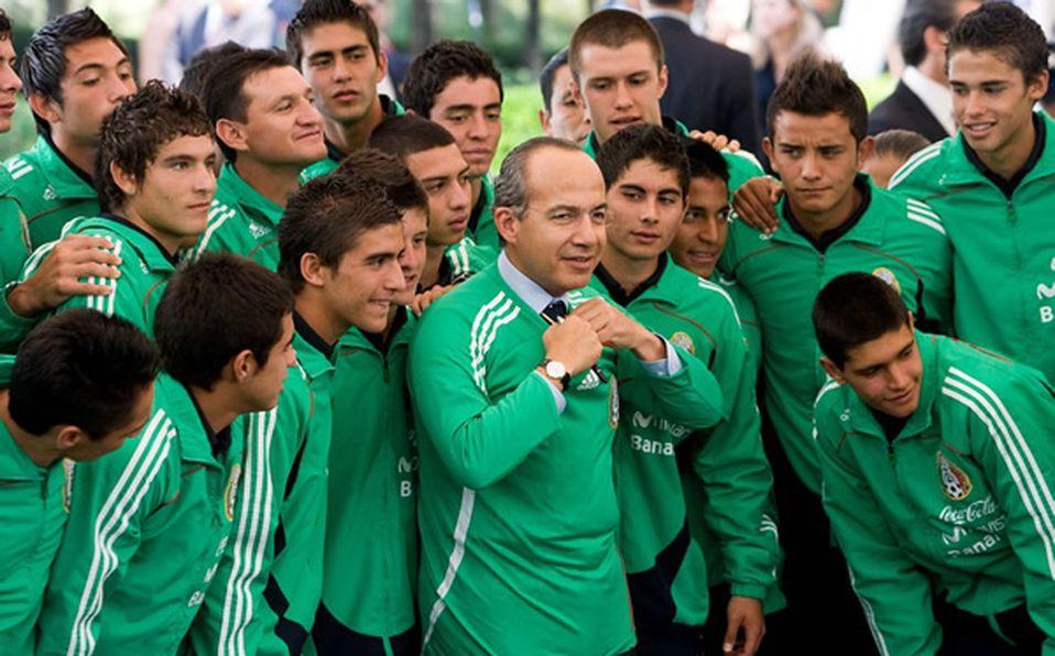 Calderón pidió a la Sub-17 alzarse con el Mundial de Nigeria a798487f32029