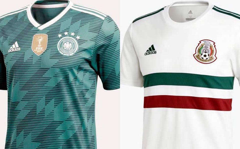 e516ad6a Alemania 'calienta' juego contra México con 'partido de camisetas ...