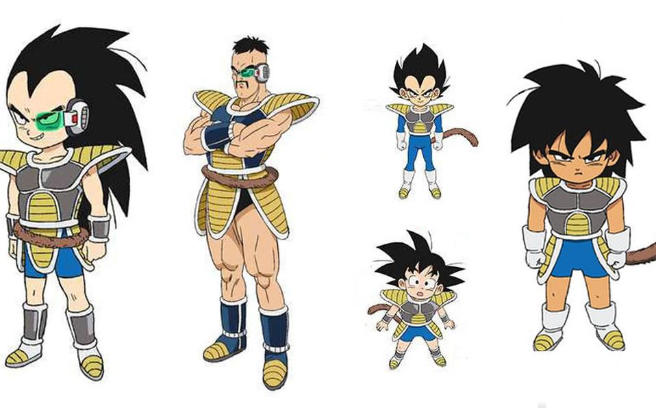 Confirman Aparicion De Nappa Y Raditz En Dragon Ball Super