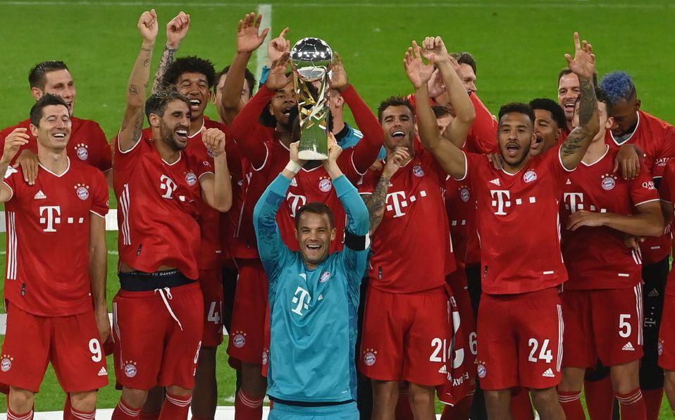 Bayern Munich ganó Supercopa de Alemania y sumó quinto título del 2020 -  Mediotiempo