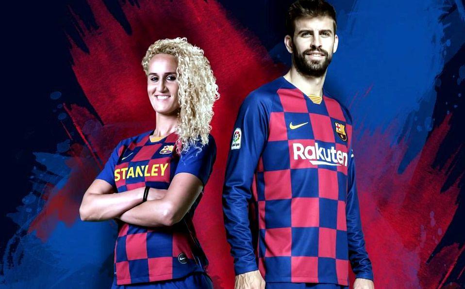 Barcelona Presenta Nueva Playera A Cuadros Para Temporada