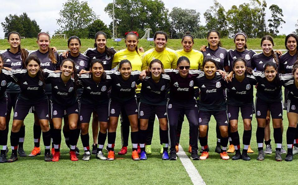 Unas pequeñas por un enorme sueño  Tri Femenil Sub-17 va por Copa ... 7f470dbdf502c