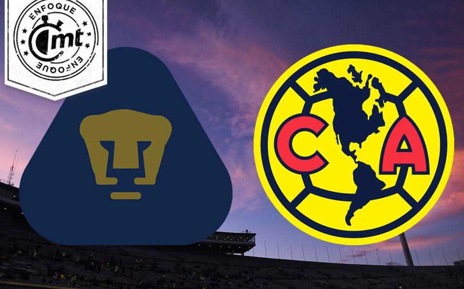 Lamer Mejora Bungalow  Pumas vs América, el Clásico de los días 'raros' en la Liga MX - Mediotiempo