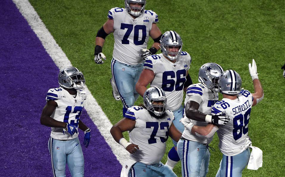 Los Cowboys tendrán su próximo partido en Día de Acción de Gracias. (AFP)