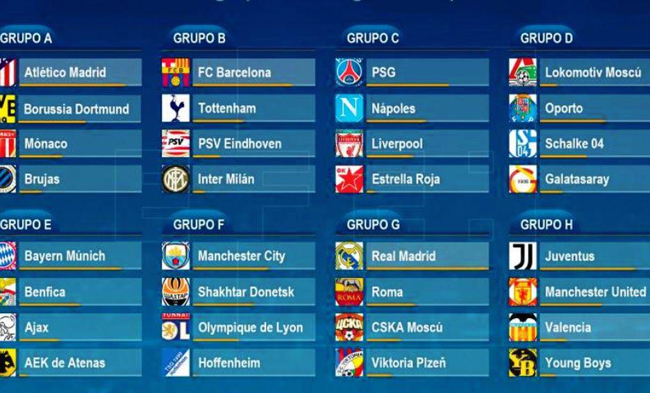 Calendario Uefa Europa League.Calendario Y Horarios Confirmados Para La Champions League