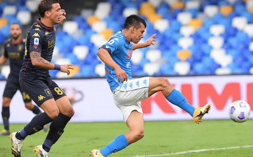 Napoli Vs Genoa 6 0 Serie A Jornada 2 Doblete Del Chucky Mediotiempo