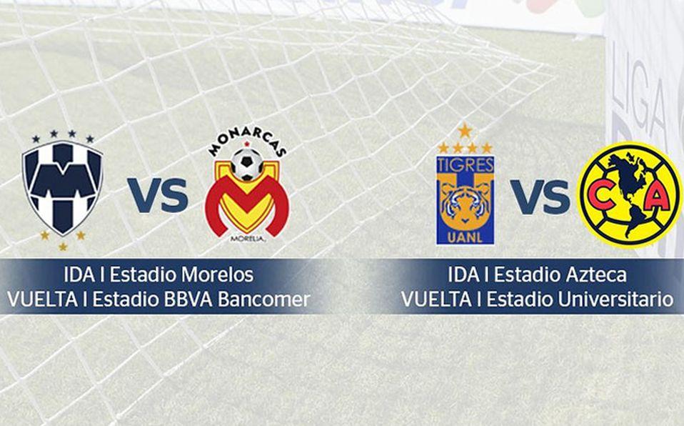 Quedaron definidos los horarios de las semis de la Liga MX c1aecfb945e37