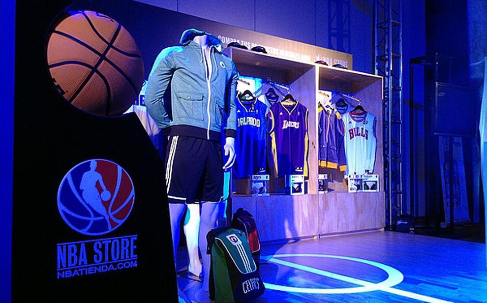 NBA presenta tienda oficial de productos en México 5f7acccdc8224