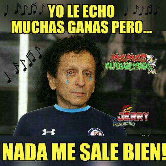 Sus gustados memes presentan: Cruz Azul y Pumas, clientes VIP ...