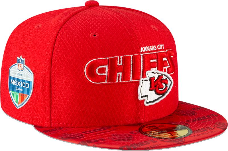 Lista la colección para el duelo de NFL México entre Chiefs y Rams 5950188ea76