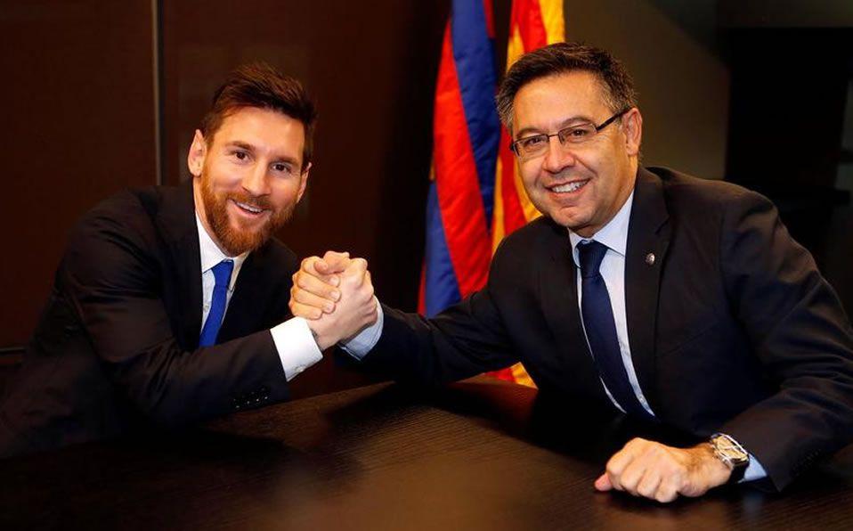 Messi se refirió a la polémica con el presidente del Barça | ECUAGOL